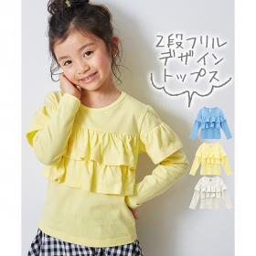 「綿100%選べる3デザイン♪長袖トップス(株式会社ニッセン)」の商品画像の2枚目
