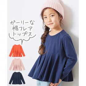 「綿100%選べる3デザイン♪長袖トップス(株式会社ニッセン)」の商品画像の3枚目
