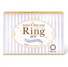 株式会社パレンテの取り扱い商品「WAVEワンデー RING ヴィヴィッドベール 2枚入り(UVカット付き)×2箱」の画像