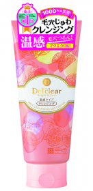 DETクリア ブライト&ピール ホットクレンジングジェルクリームの口コミ(クチコミ)情報の商品写真