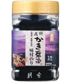「特薦かき醤油味付のり 8切 80枚入り(株式会社アサムラサキ)」の商品画像