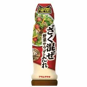 ざく混ぜ野菜サラダのたれ 170mlの商品画像