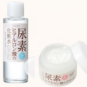 「尿素とヒアルロン酸の化粧水/クリーム(株式会社 石澤研究所)」の商品画像