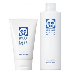 透明白肌 ホワイトフェイスウォッシュ+ホワイトローションの商品画像