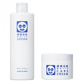 「透明白肌 ホワイトローション・ホワイトケアクリーム(株式会社石澤研究所)」の商品画像