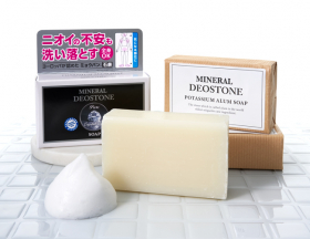 ミネラルデオストーン ミョウバン ソープの口コミ(クチコミ)情報の商品写真