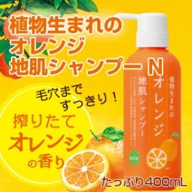 植物生まれのオレンジ地肌シャンプーNの商品画像
