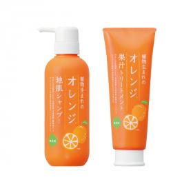 植物生まれのオレンジ地肌シャンプーN・オレンジ果汁トリートメントNの商品画像