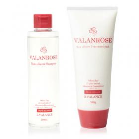 株式会社B.VALANCEの取り扱い商品「VALANROSE ノンシリコンシャンプー&トリートメント」の画像
