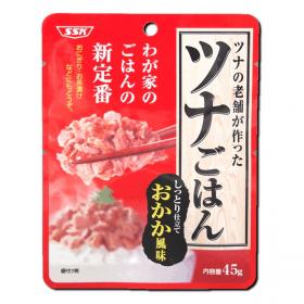 SSKセールス株式会社 の取り扱い商品「SSK ツナごはんしっとり仕立ておかか風味」の画像
