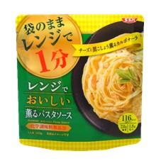 SSKセールス株式会社の取り扱い商品「SSK レンジでおいしい!薫るパスタソース カルボナーラ」の画像