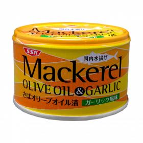 「マッカレル オリーブオイル&ガーリック(清水食品株式会社)」の商品画像