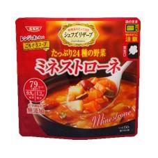 SSKセールス株式会社 の取り扱い商品「SSK シェフズリザーブ レンジでおいしい!ミネストローネ」の画像