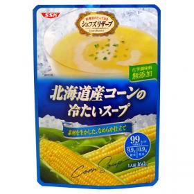 清水食品株式会社の取り扱い商品「SSK 北海道産コーンの冷たいスープ」の画像