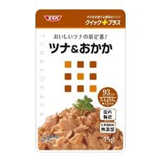 「クイック+プラス ツナ&おかか(清水食品株式会社)」の商品画像