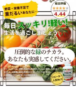 「75種類の栄養素がたった1粒に★グリーンパック(株式会社リアルメイド)」の商品画像の3枚目