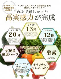 「75種類の栄養素がたった1粒に★グリーンパック(株式会社リアルメイド)」の商品画像の2枚目