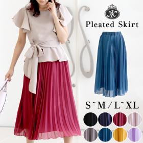 シフォンプリーツスカートの商品画像