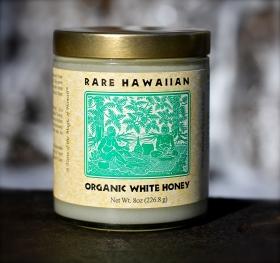 「【幻の白いハチミツ】レアハワイアンオーガニックホワイトハニー<プレーン> 8oz(株式会社NALU GARDEN FARM)」の商品画像の1枚目