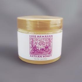 「【幻の白いハチミツ】レアハワイアンオーガニックホワイトハニー<リリコイ> 3oz(株式会社NALU GARDEN FARM)」の商品画像