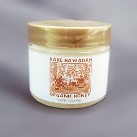 「【幻の白いハチミツ】レアハワイアンオーガニックホワイトハニー<プレーン> 3oz(株式会社NALU GARDEN FARM)」の商品画像