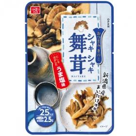 「シャキシャキ舞茸(うま塩味)(一正蒲鉾株式会社)」の商品画像
