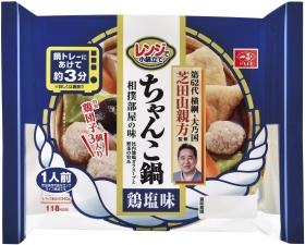 一正蒲鉾株式会社の取り扱い商品「芝田山親方監修 レンジで小鍋立てちゃんこ鍋 鶏塩味」の画像