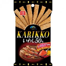 カリッこいわし50(かんずり味)の商品画像