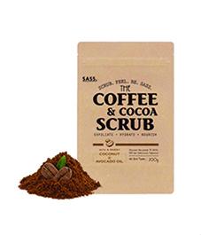 合同会社MAM&d.の取り扱い商品「SASS.コーヒー&ココア スクラブ 」の画像