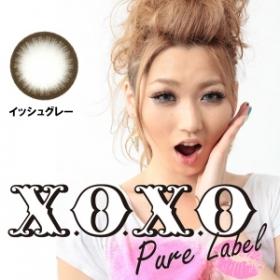 X.O.X.O ピュアレーベル イッシュグレー カラコン1年の商品画像