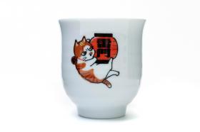「あさくさ福猫太郎開運ゆのみ(株式会社HOKUSHIN)」の商品画像の2枚目