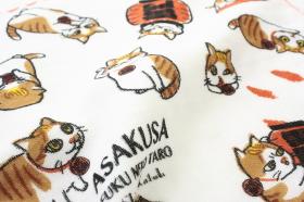 「あさくさ福猫太郎開運タオル(株式会社HOKUSHIN)」の商品画像の2枚目