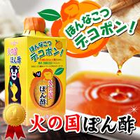 九州くまもとの高級まろやかポン酢☆老舗ホシサン醤油の『デコポン!火の国ぽん酢』の商品画像
