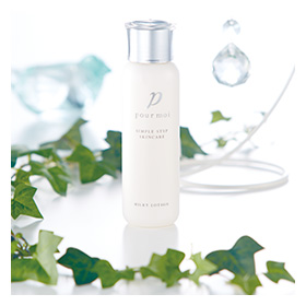 「pour moi(プモア)ミルキーローション[化粧水](日本盛株式会社)」の商品画像