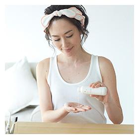 「プモアミルキーローション[化粧水](日本盛株式会社)」の商品画像の4枚目