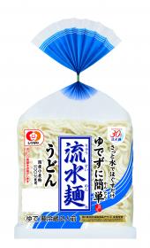 「「流水麺」うどん2人前(シマダヤ株式会社)」の商品画像
