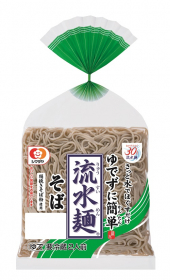 「「流水麺」そば 2人前(シマダヤ株式会社)」の商品画像