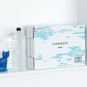 「【LOHACO限定】LOHACO Water 2L ラベルレス 1箱(5本入)(アスクル株式会社)」の商品画像