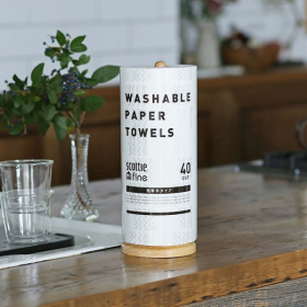 「【LOHACO限定】スコッティファイン洗って使えるペーパータオル 極厚手1ロール(アスクル株式会社)」の商品画像