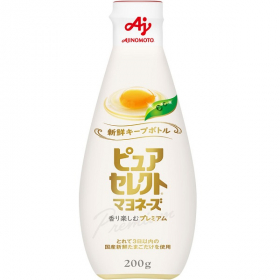 【EC限定新発売】「ピュアセレクトマヨネーズ」新鮮キープボトル200gの商品画像