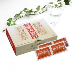 株式会社玄米酵素の取り扱い商品「元氣大豆21(顆粒・90袋入)」の画像