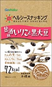 「甘酒風いりこと黒大豆(株式会社合食)」の商品画像