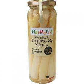 「福島喜多方産 ホワイトアスパラのピクルス(株式会社モンマルシェ)」の商品画像