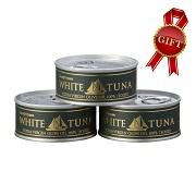 ホワイトツナ エキストラバージンオリーブオイル(ソリッド)3缶セットの商品画像