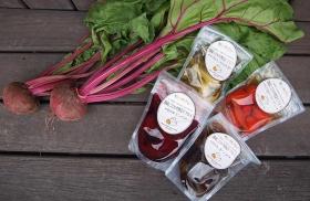 「野菜をMotto!! 静岡こだわり野菜ピクルス バラエティ4袋セット(株式会社モンマルシェ)」の商品画像