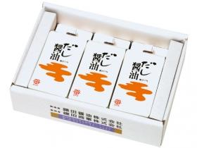 「だし醤油3ケセット(鎌田商事株式会社)」の商品画像