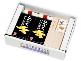 「にんにくだし醤油2ヶと小袋だし醤油セット(鎌田商事株式会社)」の商品画像
