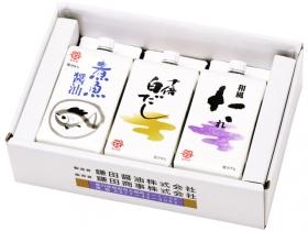 「煮魚醤油・十倍白だし・和風たれ 3ヶ入(鎌田商事株式会社)」の商品画像