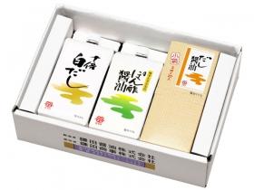 「十倍白だし・ぽん酢醤油・小袋だし醤油 3ケ入(鎌田商事株式会社)」の商品画像