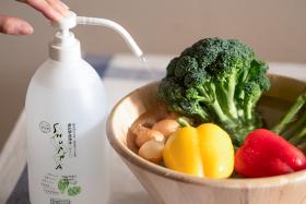 「【農薬除去・野菜洗い】SHUPPA やさい1000ml(ドウム非化学洗浄水株式会社)」の商品画像